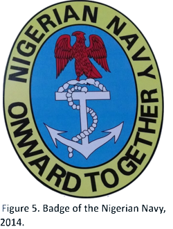 Nigerian Navy badge
